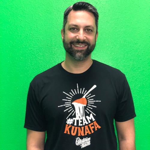 BLACK Team Kunafa 2 | Palestinian Hustle T-Shirt