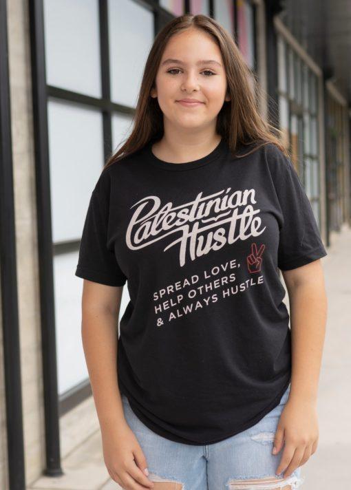 Always Hustle T-Shirt | Spread Love, Help Others & Always Hustle