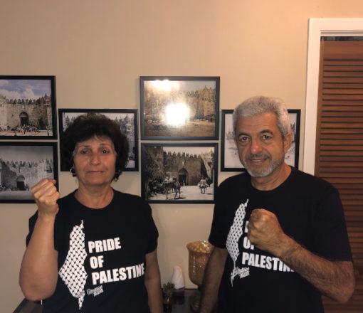 Black Palestinian Hustle Team Selwady Shirt | Palestinian Hustle French Terry Pullover Heathered White Hoodie | Palestinian Hustle | Spread Love, Help Others & Always Hustle