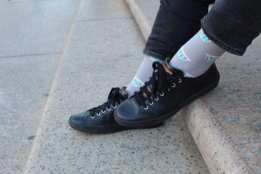 Coffee Cup Socks/Fenajeen Socks | Palestinian Hustle | Spread Peace, Always Hustle
